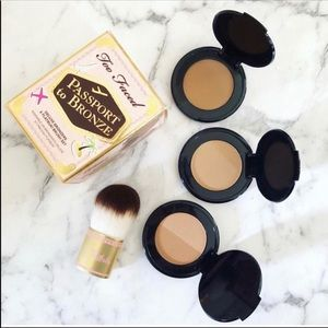✈️ Too Faced PASSPORT TO BRONZE Set